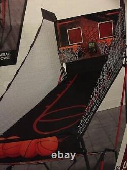 3 in 1 Sport Center Basketball Football Baseball Arcade Game Room Sports Indoor
