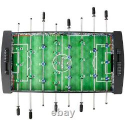 4 ft. Foosball Table Kids Soccer Competition Arcade Game Room Sports Furniture