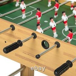 48 Foosball Table Competition Size Soccer Arcade Game Room Sports Entertainment