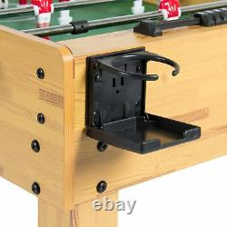 48 Home Arcade Game Room Man Cave Foosball Football Soccer Gift Play Table