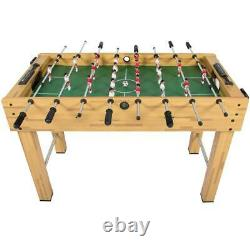 48in Competition Sized Foosball Table with 2 Balls, For your Arcade Game Room