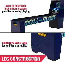 87 Inch 3 Ball Roll and Score Arcade Game Room with built-in LED Lights NEW