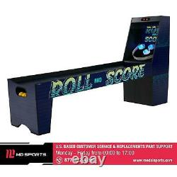 87 Light Up Roll And Score Arcade Game Room Built In Automatic Ball Return