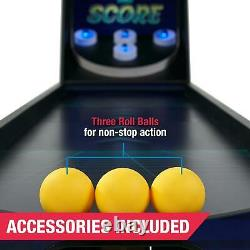87 Light Up Roll And Score Arcade Game Room Built In Automatic Ball Return New