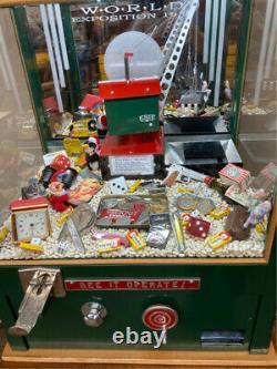 ARCADE, CARNIVAL CRANE DIGGER MACHINE for HOME GAME ROOM. UNIQUE- GUARANTEED