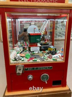 ARCADE CRANE DIGGER MACHINE for HOME GAME ROOM, COLLECTION, or STORE LOCATION