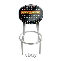 Arcade 1up Official Game Room Custom Stool Play Seat Sit Down Gameplay Stools