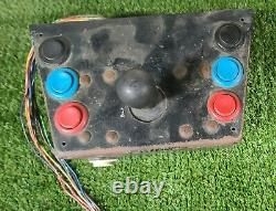 Arcade Control Panel with 4 way Joystick and 7 various color buttons