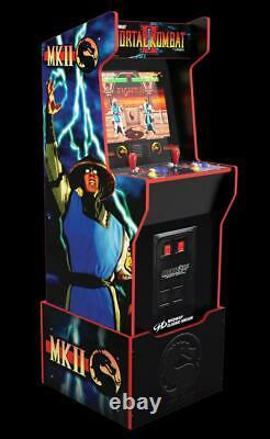 Arcade Game Machine Mortal Kombat 12-in-1 Office Family Ggame Room With Riser