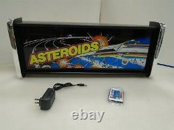 Asteroids Marquee Game/Rec Room LED Display light box