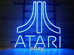 Atari Arcade Video Game Room Neon Light Sign Lamp 17x14 Beer Bar Glass