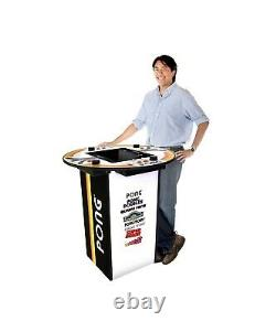 Atari PONG PUB Table Arcade 1UP 8 Games In One Classic Arcade Game Room
