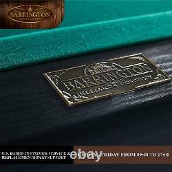 Barrington Billiard 84 Arcade Pool Table with Bonus Dartboard Set Rec Room Game