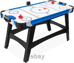 Best Choice Products 58in Mid-Size Arcade Style Air Hockey Table for Game Room