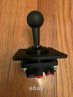Black 4 way joystick for Gottlieb Qbert arcade joystick