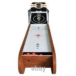 Boardwalk 8-ft Arcade Ball Table for Family Game Rooms with LED Track Lighting