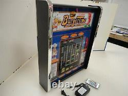 Burgertime Game Play Marquee Game/Rec Room LED Display light box
