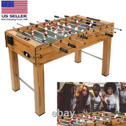 Classic 48 Inch Foosball Table Soccer Football Arcade Indoor Game Room US Stock