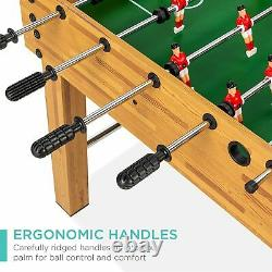 Competition Sized Foosball Table, Arcade Table Soccer for Home, Game Room, Arcad