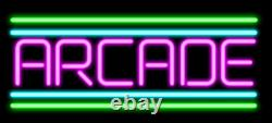 Custom Arcade Game Room Video 14x10 Neon Sign Lamp Light Beer Bar With Dimmer