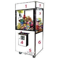 Customizable Crane Claw Machine by Game Room Guys