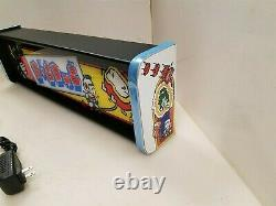 Dig Dug Marquee Game/Rec Room LED Display light box