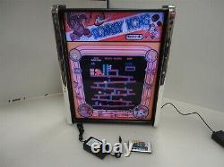 Donkey Kong Game Play Marquee Game/Rec Room LED Display light box