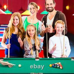 Folding Pool Table Billiard Home Kids Family Game Night Room Fun Arcade Play 47