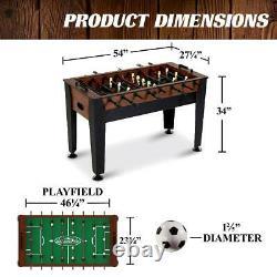Foosball Game Indoor Soccer Table Game Room Party Night Fun Arcade Balls 54