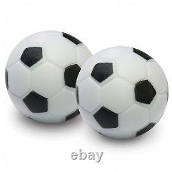 Foosball Soccer Table 48 Arcade Game Room Hockey Fooseball Soccer Balls NEW