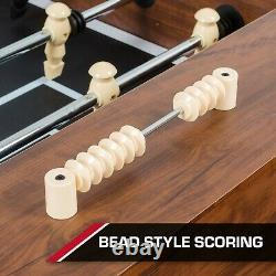 Foosball Soccer Table 60 Competition Sized Arcade Game Room Hockey Sports NEW