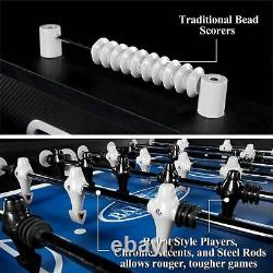 Foosball Soccer Table Arcade Game Room Play Durable Stable Accessories Included
