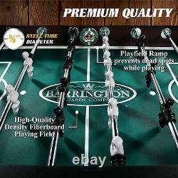 Foosball Table Soccer Football Arcade 4 Player Indoor Game Room 56 in Barrington