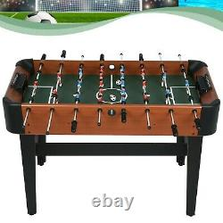 Foosball Table Soccer Football Arcade 4 Player Indoor Game Room Home Kids Adults