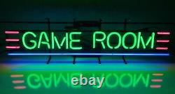 GAME ROOM Vintage Neon Sign 40 Bowling Alley Arcade Nintendo Video Games Sign