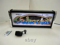 Galaxian Marquee Game/Rec Room LED Display light box