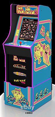 Gaming Arcade Machine Riser Arcade1up Pacman Cabinet Retro Family Game Room NEW