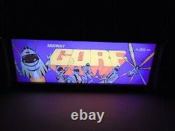 Gorf Marquee Game/Rec Room LED Display light box