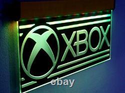 H029 X-BOX LED Open Sign Neon Light GAME ROOM Arcade Super Mario PS4 NINTENDO 20