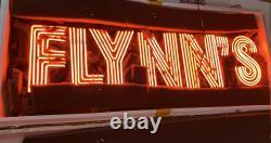 HUGE 40 inches Flynn's Arcade Game Room Real Neon Sign Beer Bar Light Artwork