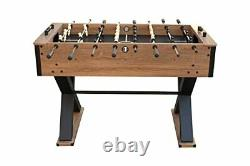 Hathaway Fullerton 48-in Foosball Table, Arcade Table Soccer for Game Rooms