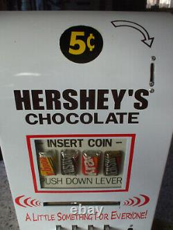 Hershey's chocolate vending machine diner arcade candy game room