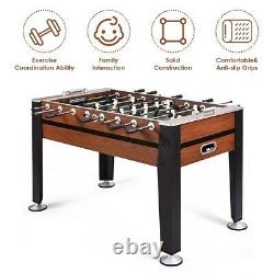 Indoor Foosball Table Competition Sized Soccer Football Arcade Game Room Sports