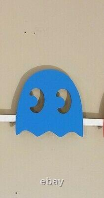 LED lighted Arcade Pac Man sign Game room, Retro, Man cave, Bedroom, Night light