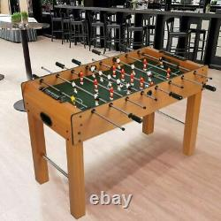 Livebest Foosball Table Soccer Game Wooden Play Arcade Party Fun Room Home Adult