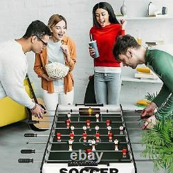 Lonabr 48 Foosball Table Game Competition Soccer Adults Kids Room Arcades Party