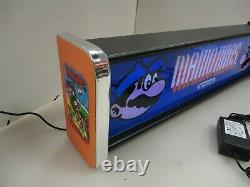 Mario Brothers Marquee Game/Rec Room LED Display light box