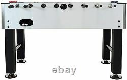 Metallic Foosball Table, Sports Arcade Soccer for Game Room 55-Inch