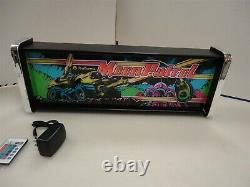 Moon Patrol Marquee Game/Rec Room LED Display light box