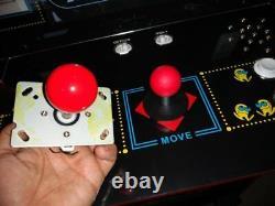 Ms Pac Man Ball Top 4 Way Joystick Jamma Mame Arcade 1 Up New Dragons Lair